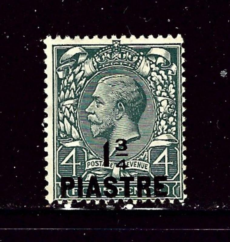 Great Britain offices in Turkey 43 used 1913 overprint