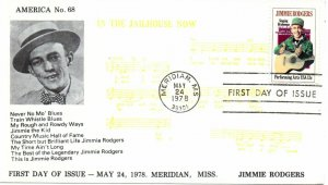 US FDC #1755 Rodgers, America Cachets (8313)