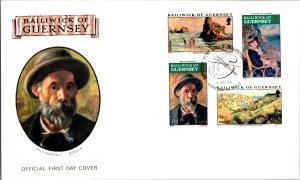 Guernsey, Worldwide First Day Cover, Art