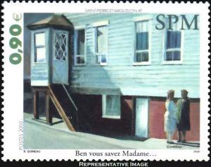 Saint Pierre & Miquelon Scott 812 Mint never hinged.