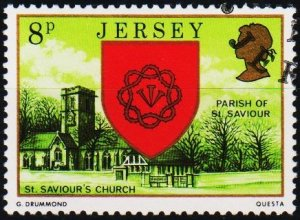 Jersey. 1976 8p S.G.142 Fine Used