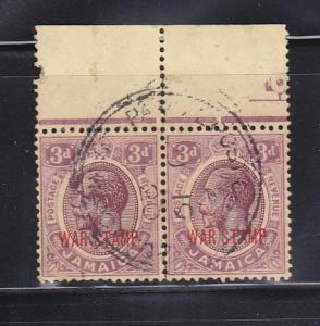 Jamaica MR11 Pair U King George V (C)