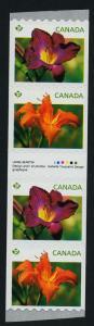 Canada 2528i Gutter Strip/Inscription MNH Flowers, Dayl