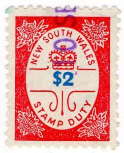 (I.B) Australia - NSW Revenue : Stamp Duty $2 (1966)