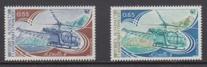 French Southern & Antarctic Territories   #95-96    mnh      cat $1.05