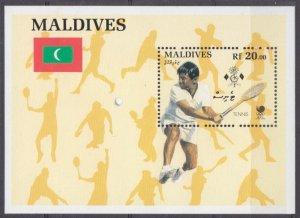 1988 Maldive Islands 1311/B144 1988 Olympic Games in Seoul 7,00 €