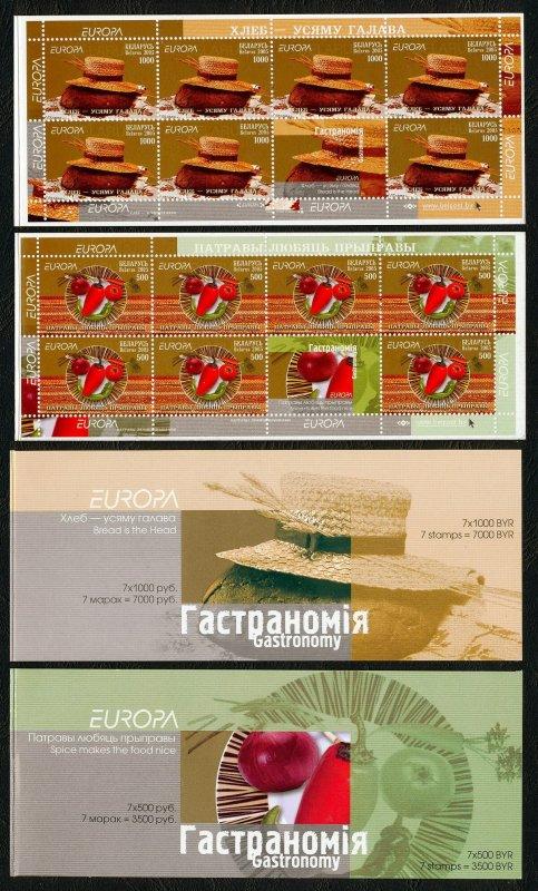 2005 Belarus 593/MH9-594/MH10 Europa Cept