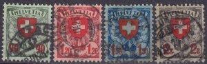 Switzerland #200-03 F-VF Used   CV $31.00  (Z4089)