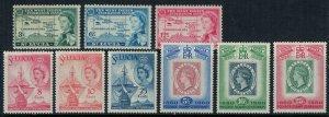 St. Lucia #170-8*  CV $4.40