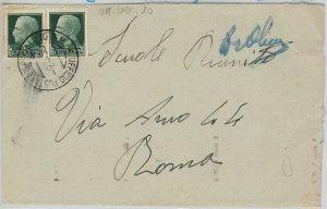 ITALIA REGNO  - annullo POSTA MILITARE su BUSTA : PM 10 Palma de MALLORCA  1938