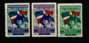 Dominican Republic SC# 326 - 328 Mint (See Notes) - S9172