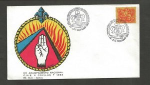 1964 Portugal Scouts XII Acampamento Nacional Covilha