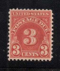 US# J82 - 3 Cents Postage Due - O.G. - N.H.