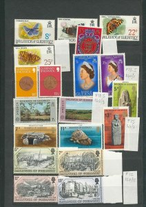 Guernsey Isle of Man Jersey MNH (Apx 90 Stamps) (W188