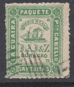 VENEZUELA  La Guiara ship local post - an old forgery  of this classic......D446