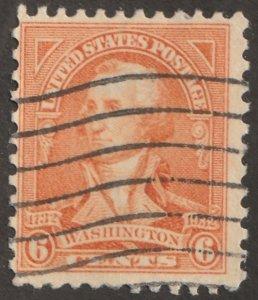 USA stamp, Scott# 711, used, hinged, single stamp, #x-69