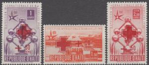 Haiti #B2-3, CB9  MNH F-VF CV $7.50 (SU1421)