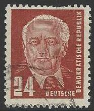 Germany DDR #55 Used Single Stamp (U3)