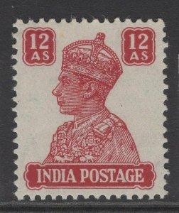 INDIA SG276 1941 12a LAKE MNH