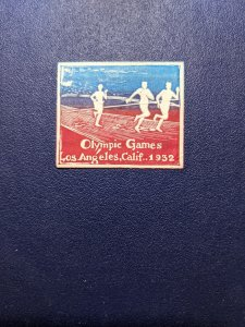 Los Angeles 1932 Olympic Games Cinderella, VFMH, CV $10