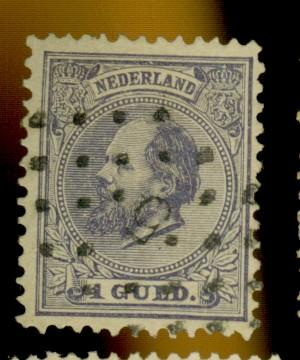 Netherlands #32 Used F-VF  Cat$40