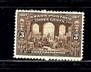 Canada 135 MH 1917 issue