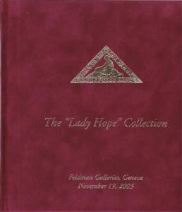 The Lady Hope Collection of Cape of Good Hope, Feldman Auction Catalog, New