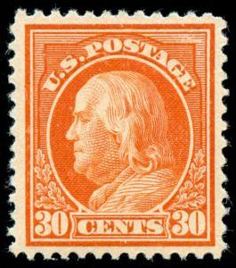 momen: US Stamps #420 Mint OG NH VF/XF PF Cert
