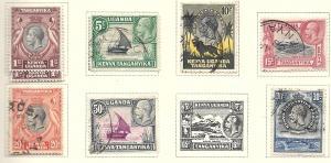 Kenya-Uganda-Tanganyik  #46 M,46 U - 52 (U) CV $5.25