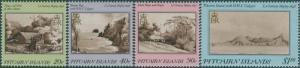 Pitcairn Islands 1987 SG304-307 Trees set MNH