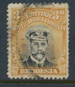 British South Africa Company / Rhodesia  SG 260 Used perf 14 see scans & details