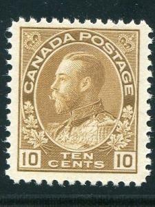 Canada #118   Mint VF NH  Cat $180