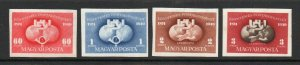 Hungary - SC# 861, 862 + C63, C81  MH / IMPERFS -  Lot 0421516