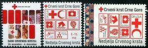 HERRICKSTAMP NEW ISSUES MONTENEGRO Red Cross 2015-16