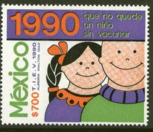 MEXICO 1640 Campaign for Anti-Polio Vaccine MNH