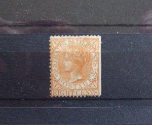 Straits QV 1867 8c orange yellow SG14 mint CV £200