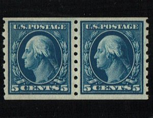 Scott #396 VF/XF-OG-NH. With 2019 PSE certificate.   A Showpiece