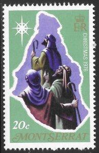 [21915] Montserrat Mint Never Hinged