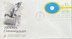 Artcraft U569 Tennis Centennial 1874 - 1979 Official First Day Cover
