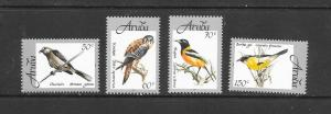 BIRDS - ARUBA #162-5  MNH