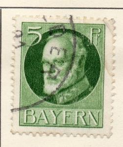 Bavaria 1914-18 Early Issue Fine Used 5pf. 013193