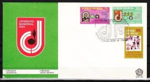 Indonesia, Scott cat. 1112-1114. Asia-Pacific Scout Jamboree. First day cover. ^