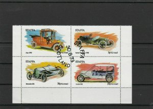Scotland Used Stamps Sheet ref R 16515