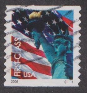 US #3969 Liberty Used PNC Single plate #S1111