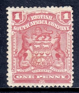 Rhodesia - Scott #60 - MH - Small thin at top - SCV $12