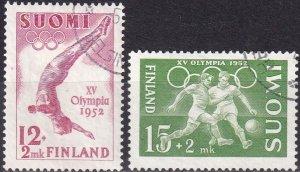 Finland #B110-11  F-VF Used CV $4.00 (Z2964)