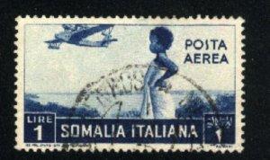 Somalia C13  used 1936 PD
