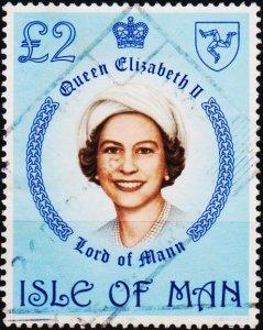 Isle of Man. 1981 £2 Fine Used