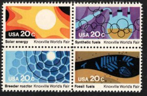 USA Scott 2006-2009 MNH** Knoxville Energy block of stamps