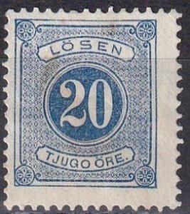 Sweden #J17  Unused  CV $5.25  (Z6334)